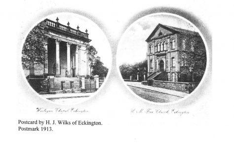 Eckington Wesleyan Methodist chapel