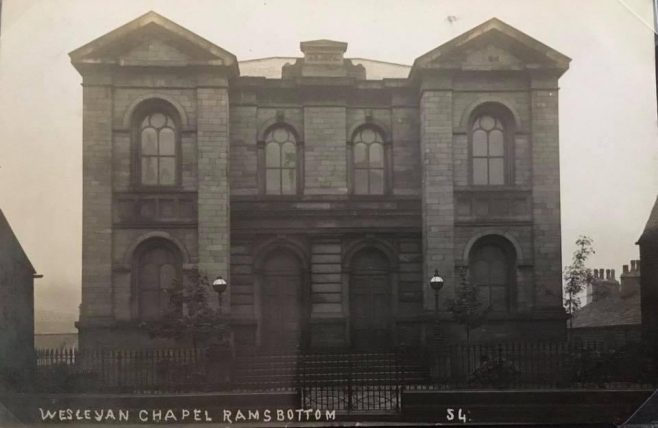 RAMSBOTTOM Wesleyan Methodist Church Lancashire