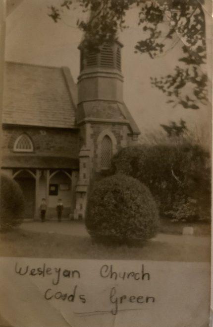 COADS GREEN Wesleyan Church Cornwall