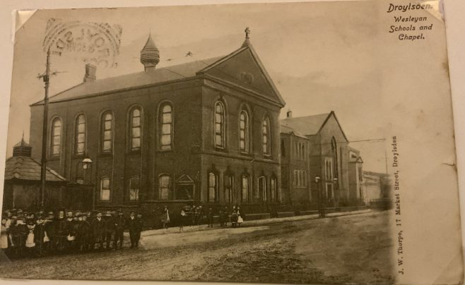 Droylsden Wesleyan Chapel and Schools