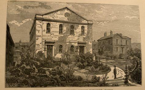 Mount Pleasant Wesleyan Church in Bacup Lancashire