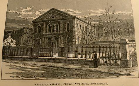 Rakefoot Crawshawbooth Wesleyan Church Lancashire