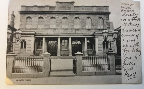 Penzance, Chapel Street Wesleyan Chapel, Cornwall