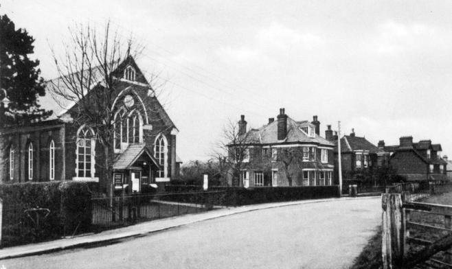 Lyminge, Kent (destroyed by flying bomb, 1944)