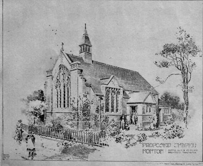 Monton Wesleyan Chapel, Eccles | Building News and Engineers Journal, 1904