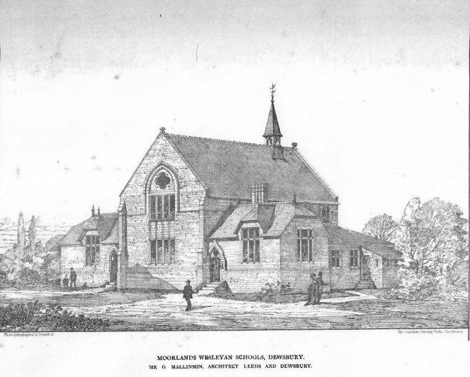 Moorlands Wesleyan Schools, Dewsbury   The British Architect and Northern Engineer, 1876