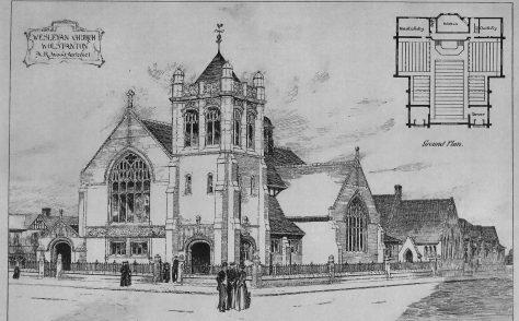 Wolstanton, Staffordshire, St. John's Church