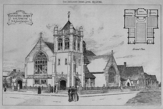 Wolstanton, St. John's Church | Building News, 1896