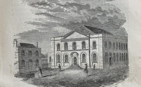 Wesley's Chapel City Road London  exterior and interior