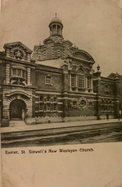 EXETER St Sidwell Street Wesleyan Methodist chapel  .