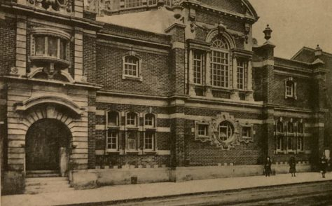 Exeter St Sidwell Street Wesleyan Methodist chapel