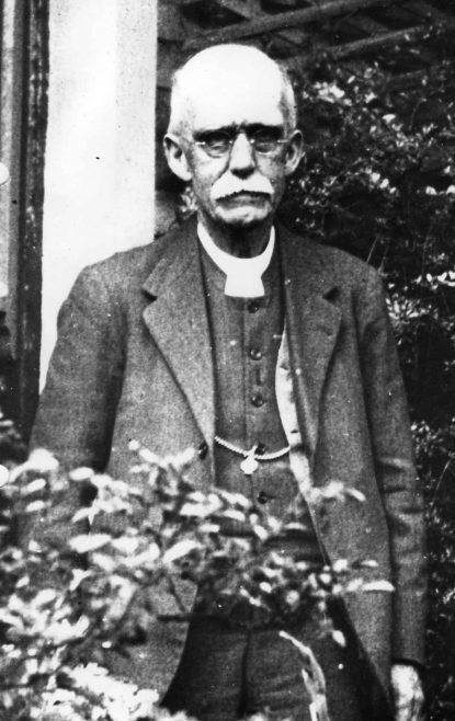 Rev Percy E Blackburn