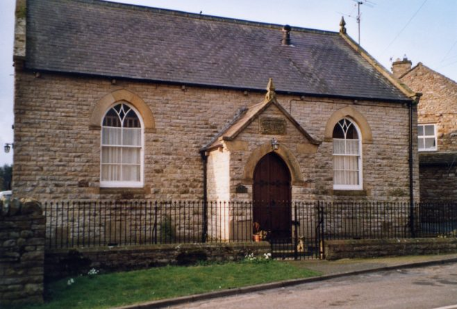former Thoralby Wesleyan Methodist Chapel  after conversion to residential use  | Penny Ellis 2004