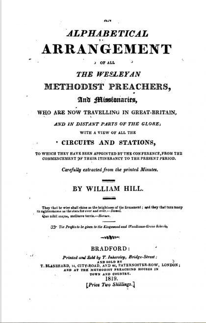 1819 Hills   Courtesy of Toronto Public Library
