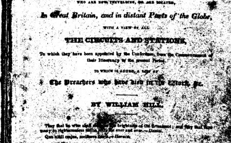 An Alphabetical Arrangement of all the Wesleyan Methodist Preachers and Missionaries 1824