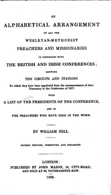 1838 Hills
