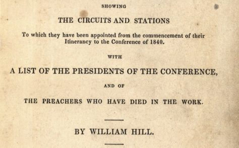 An Alphabetical Arrangement of all the Wesleyan-Methodist Preachers and Missionaries 1841