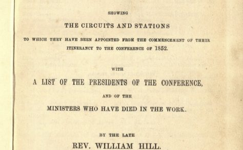 An Alphabetical Arrangement of all the Wesleyan-Methodist Ministers,  Missionaries and Preachers on Trial …1853