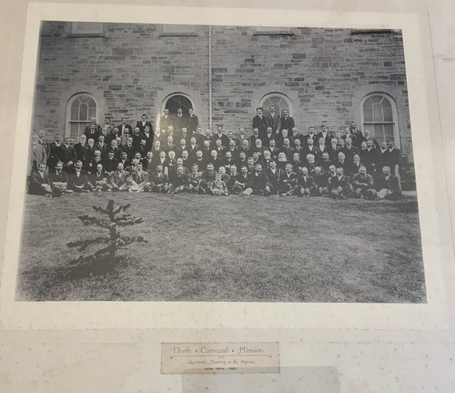 1901 photograph of the North Cornwall Wesleyan Mission Circuit