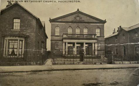 Yorkshire Pocklington Wesleyan Chapel  Manse and Sunday School