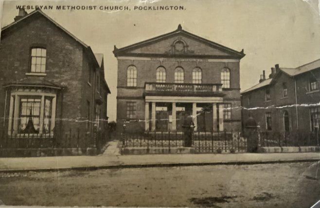 Yorkshire Pocklington Wesleyan Chapel  Manse and Sunday School?