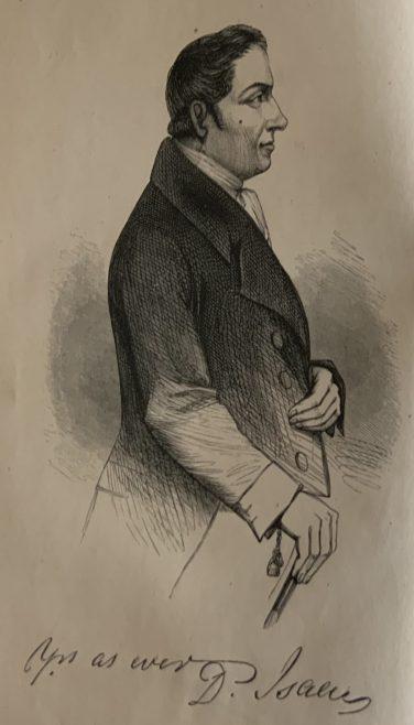 Rev Isaac Daniel
