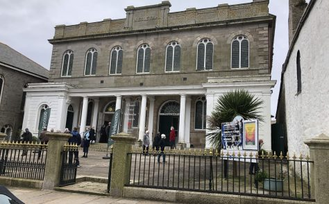 Penzance Cornwall, Chapel St, former Wesleyan Church