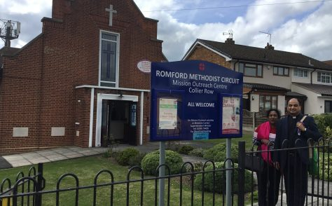 Romford, Collier Row Methodist Church,