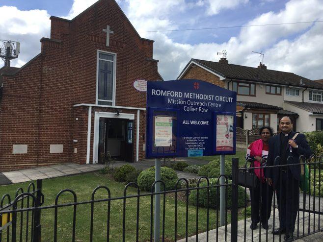 Collier Row Methodist Church. Romford