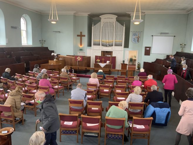 St Agnes former Wesleyan Methodist Church Worship centre