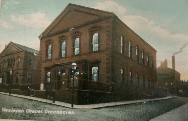 OLDHAM Wesley (Greenacres Road) Wesleyan Methodist Church