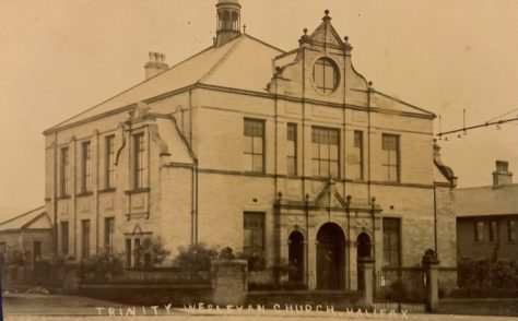 HALIFAX, Trinity Wesleyan, Trinity Road/Pellon Lane, Methodist