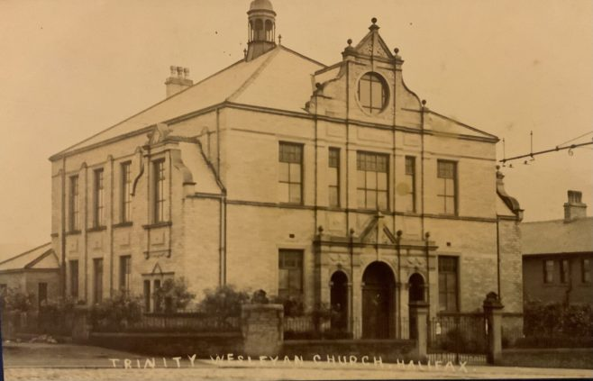 HALIFAX, Trinity Wesleyan, Trinity Road/Pellon Lane, Methodist.