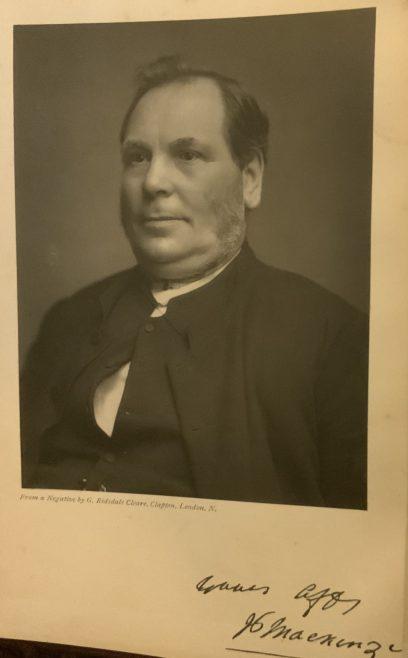 Rev Peter Mackenzie Wesleyan Minister