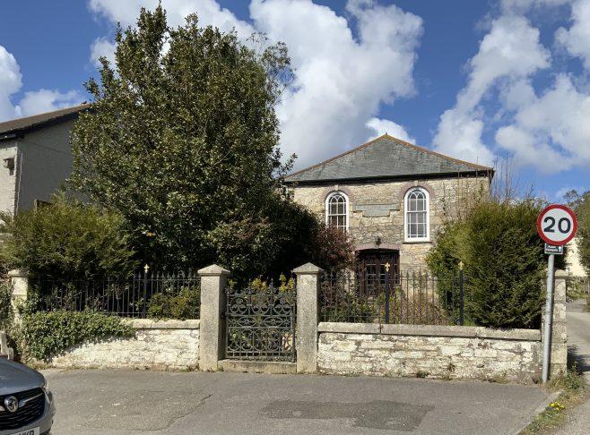 Cornwall Blackwater Wesleyan Methodist Church 1822 Now a dwelling