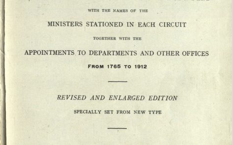 Hall's Circuits and Ministers: 1765-1912