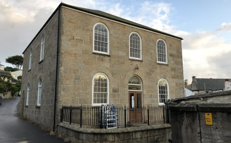 Old Wesleyan Chapel St Mary's Isle of Scilly