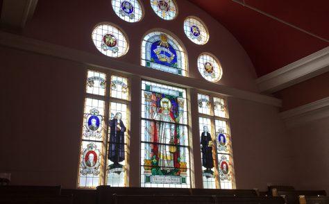Falmouth Methodist Church Cornwall memorial window