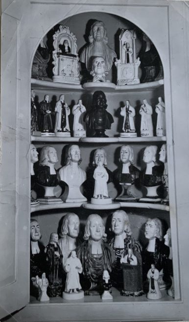 New Room Staffordshire figures of John Wesley