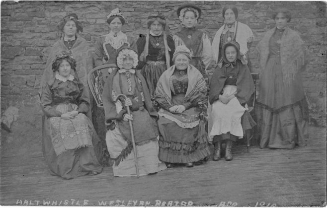 Haltwhistle Wesleyan Ladies about 1910