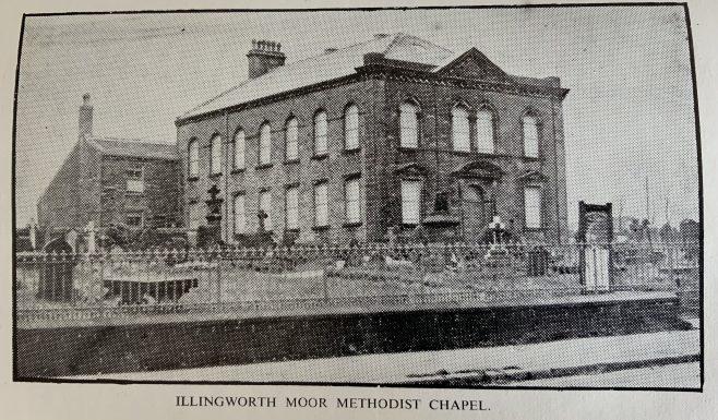 ILLINGWORTH MOOR Wesleyan Methodist Church, Yorkshire