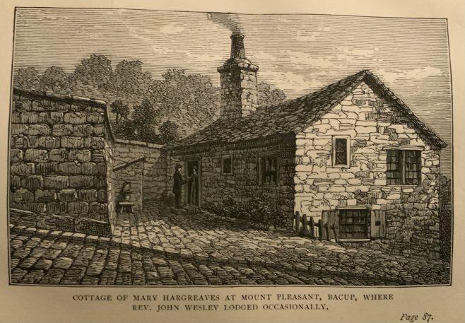 LANCASHIRE Bacup Mary Hargreaves Cottage