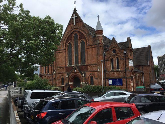 ROMFORD Trinity Methodist Church