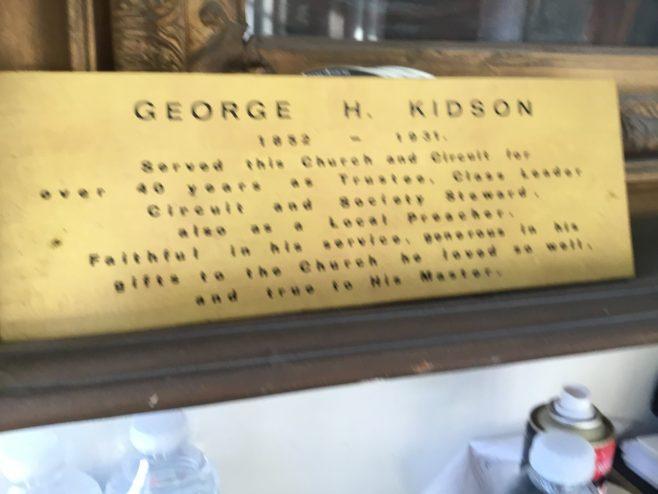 George H Kidson