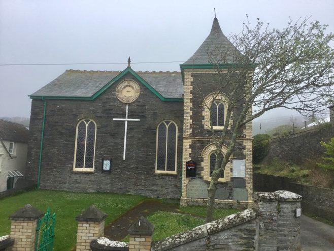 Boscastle former Wesleyan Church Cornwall