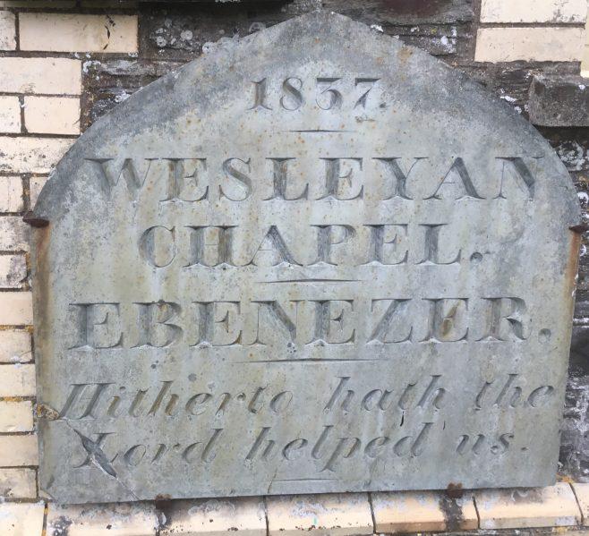 Cornwall EBENEZER Wesleyan Methodist Church Boscastle