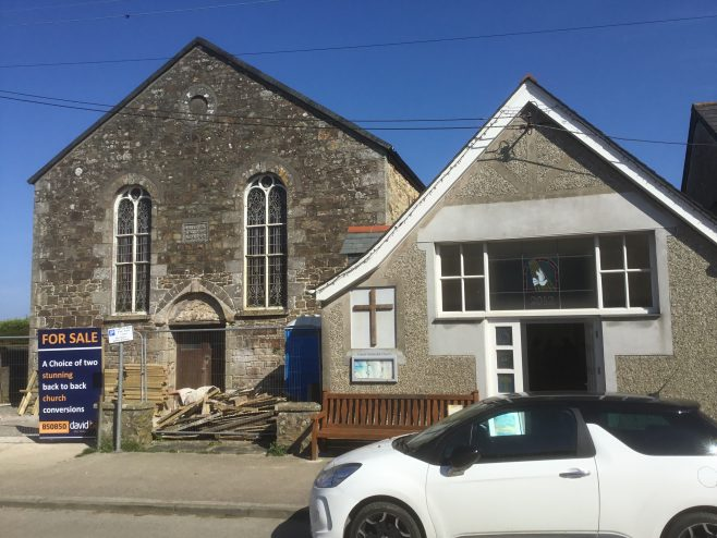 Cubert Wesleyan Church Cornwall