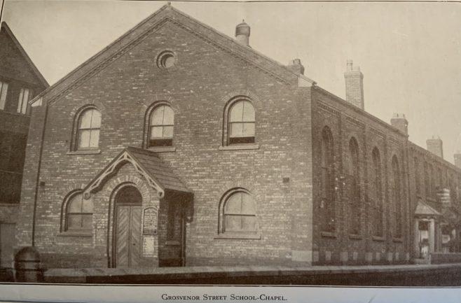 Grosvenor Street Mission Hall, built 1886