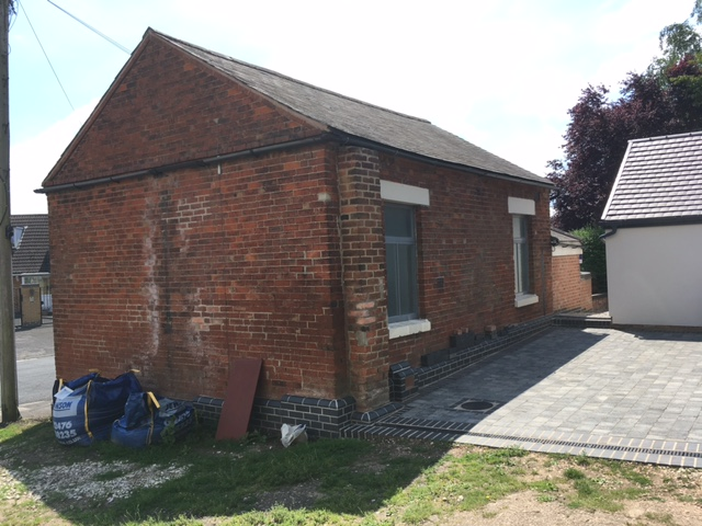 Rear view of Weston on Trent  Wesleyan Methodist chapel | Christopher Hill July 2021