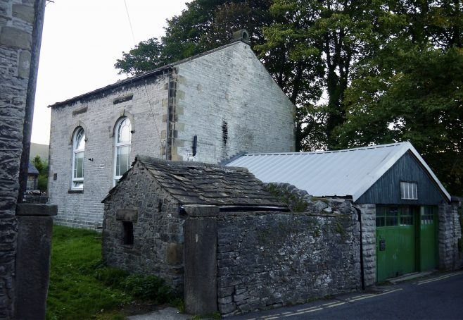 Castleton Wesleyan Methodist chapel, Back Lane   Philip Thornborow, 2021